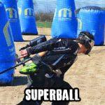 Le Superball, terrain compétition