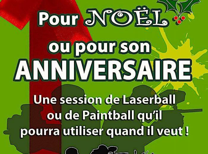Offez des places de Laser, Paintball ou Archery pour son Anniversaire
